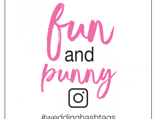 Funny Pun Wedding Hashtags