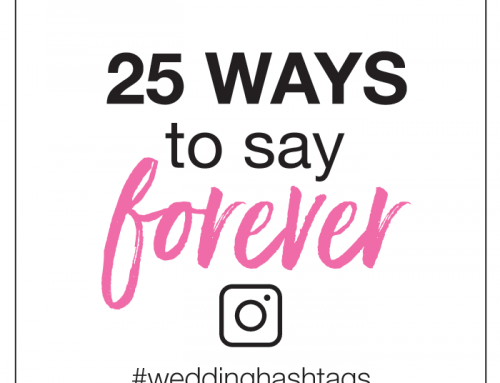 50 Fun Wedding Hashtags | Tag Along Lovely