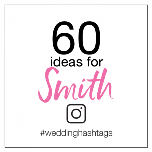 hashtag ideas for smith