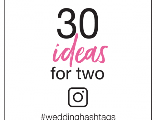 30 Wedding Hashtag Ideas for Two