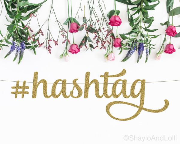hashtag banner