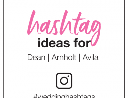 Hashtag Ideas for Dean, Arnholt, and Avila