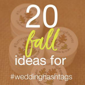 20 fall ideas for hashtags