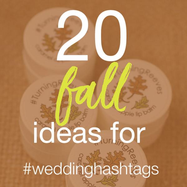 fall hashtag ideas